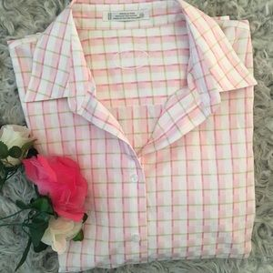 Foxcroft Wrinkle Free Women Button Up Shirt